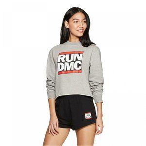 NWT Bravado Women's Run DMC Pajama Set Medium Gray